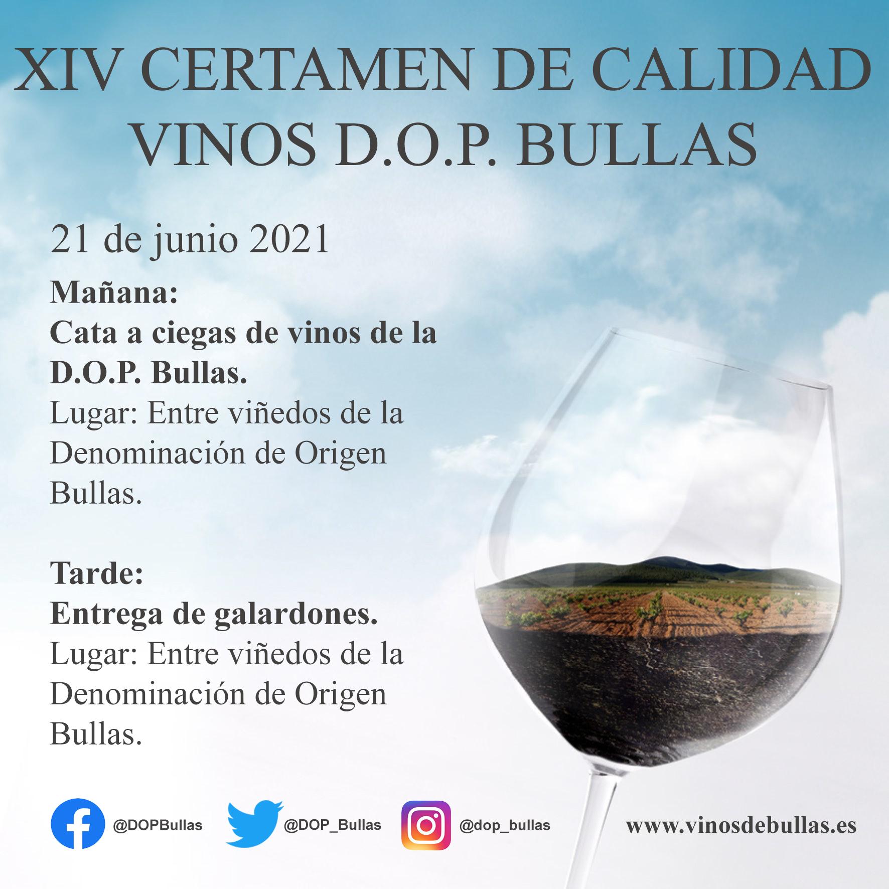 XIV CertamenDeCalidad VinosDOPBullas
